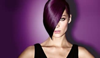 Тонирование волос краской
