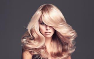 Блонд в красках для волос Рябина