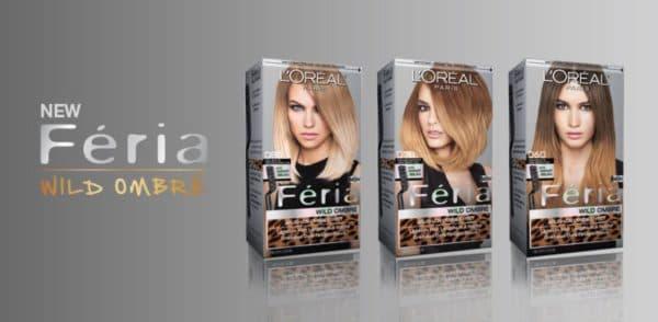 Краска Лореаль для создания эффекта омбре на волосах