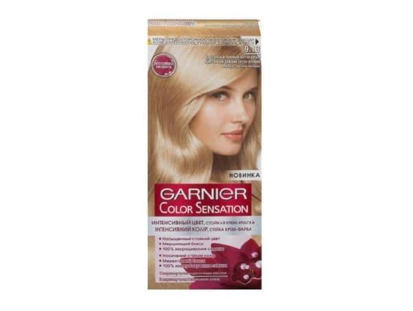 Гарньер краска для волос оттенок 9.13