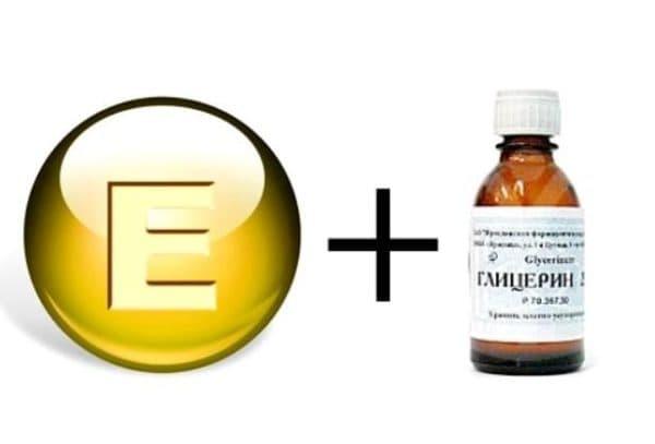 Глицерин и витамин Е в креме для лица после 30 лет