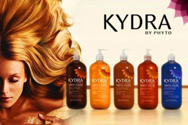 Окрашивающий коктейль Kydra Sweet Color для тонирования волос после мелирования