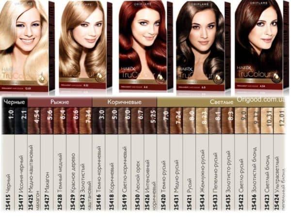 Oriflame пепельный оттенок краски для волос 8.1