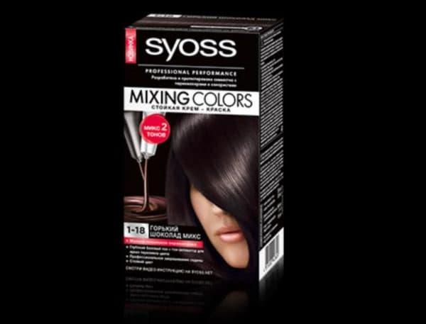 Syoss Mixing Color 1.18 шоколадная краска для волос