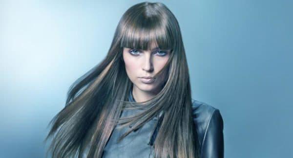 Темно-русый пепельный оттенок волос