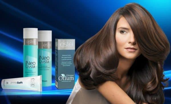 Средства по уходу и окрашиванию волос Эстель