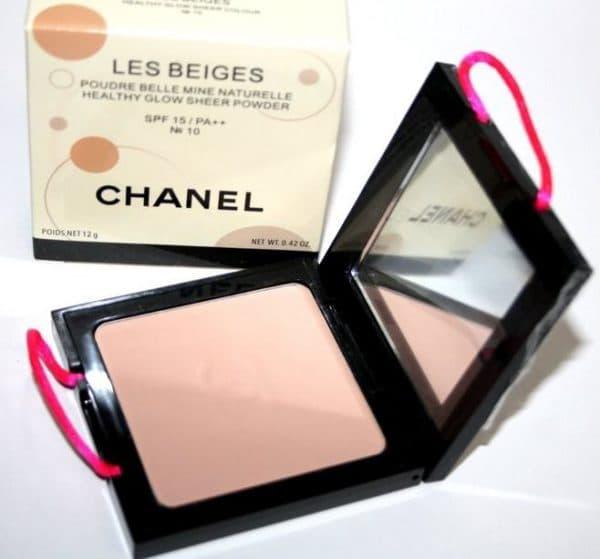Лучшая пудра для лица Chanel Les Beiges