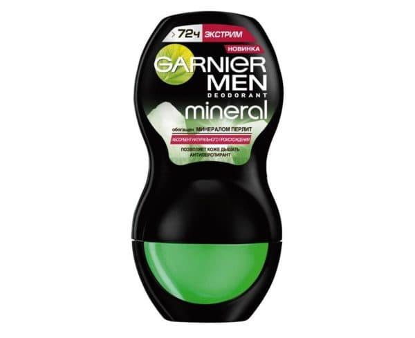 Антиперспирант с минеральной пудрой Garnier Men Mineral