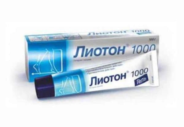 крем гель Лиотон 1000 от варикоза