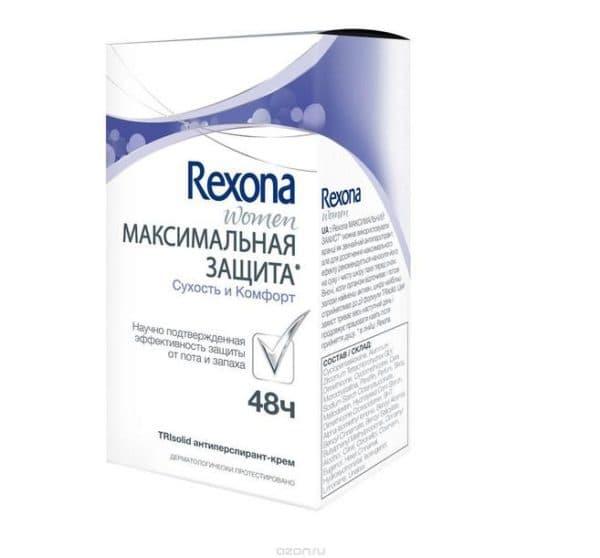 Rexona для женщин максимальная защита