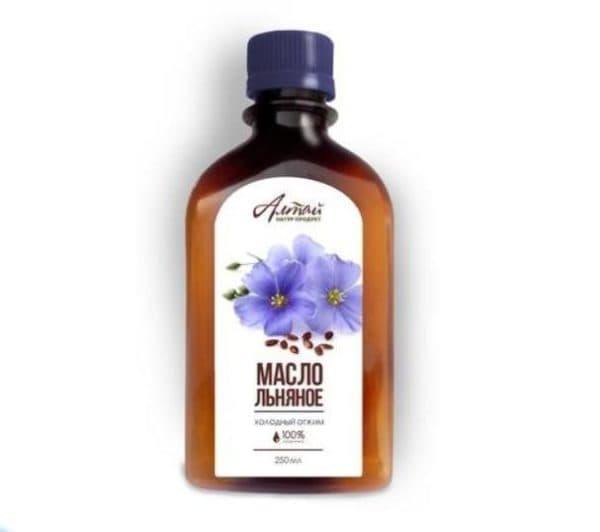 Алтай льняное масло