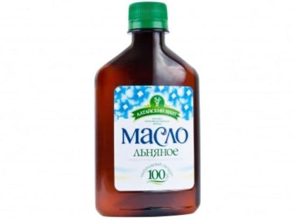 Льняное масло для волос Алтайский букет