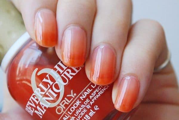 Покрытие ногтей в стиле Беверли Хилс