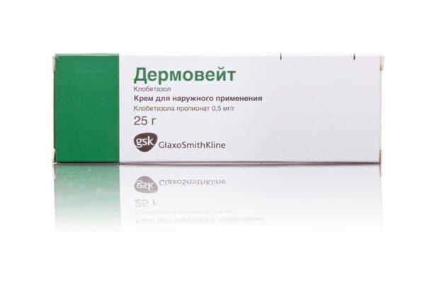 Дермовейт крем для наружного применения от аллергии на коже