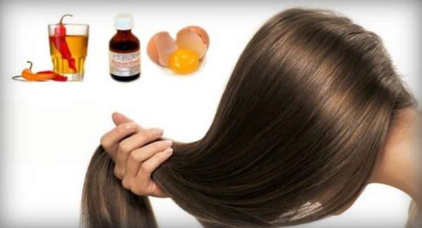 Рецепт маски для роста волос с красным перцем
