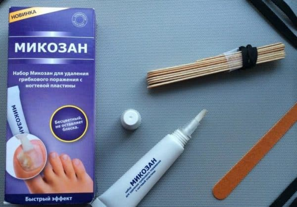 Микозан лак от грибка ногтей