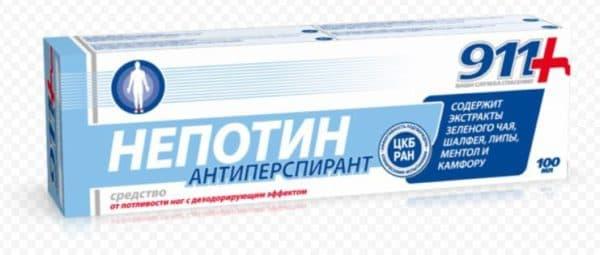 Крем дезодорант Непотин