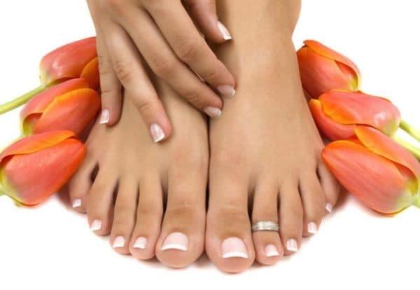 Здоровые ногти на ногах без грибка