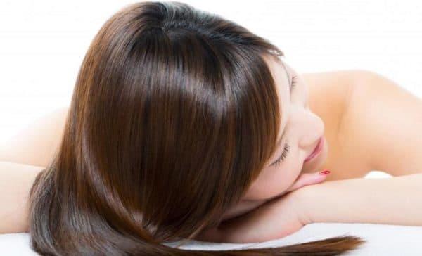Результат использования лавандового масла для волос