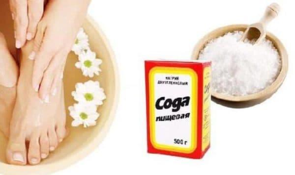 Пищевая сода от ногтевого грибка на ногах