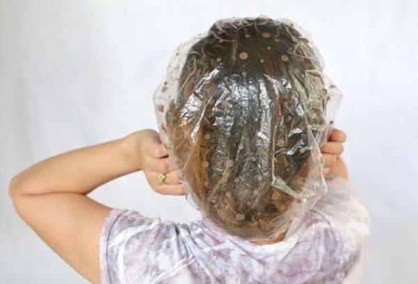 Шапочка для волос для косметических масок