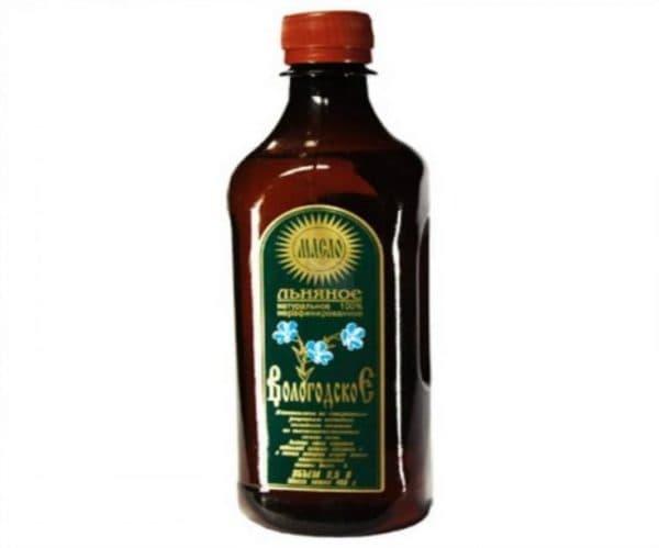 Вологодское льняное масло