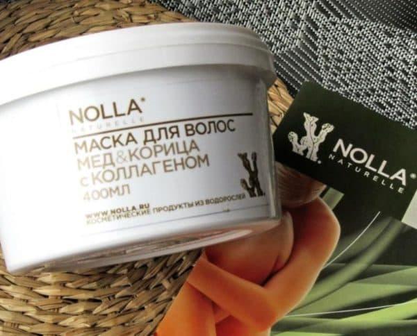 Маска для волос с корицей и мёдом NOLLA