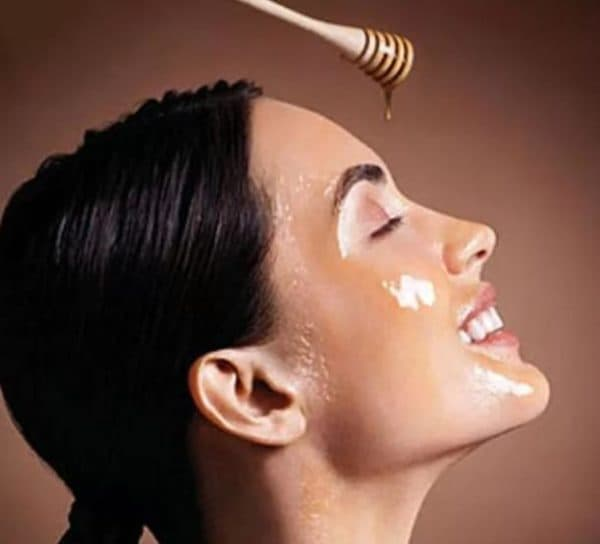 Питательная маска для лица с мёдом
