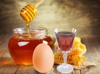 Маски для волос с коньяком и мёдом