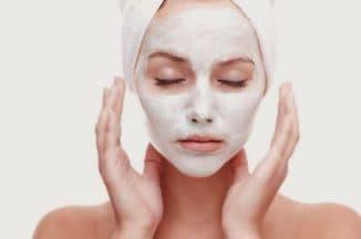 Крахмальная маска для лица вместо ботокса