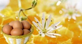Маски для лица с мёдом и яйцом