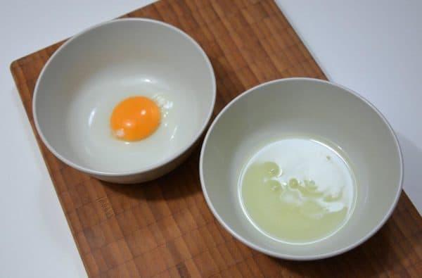 Яичные белок и желток