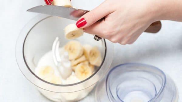 Ингредиенты для маски для волос с бананом