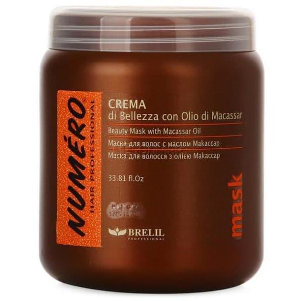 Маска для волос Нумеро с маслом макассар