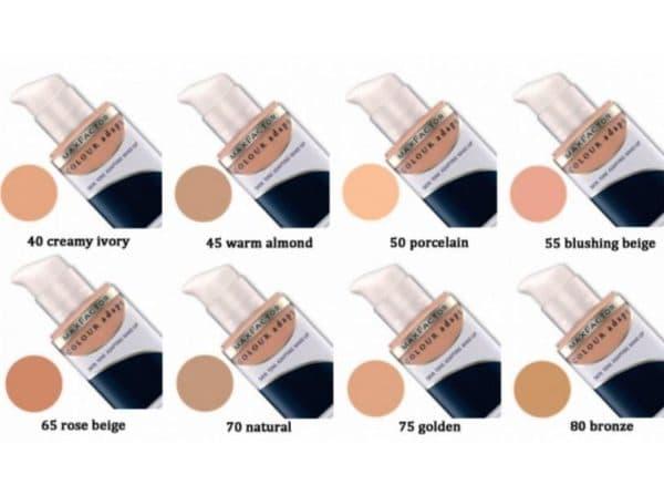 Палитра Тонального крема Max Factor Colour adapt