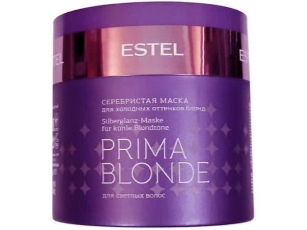 Серебристая маска Estel Prima Blonde