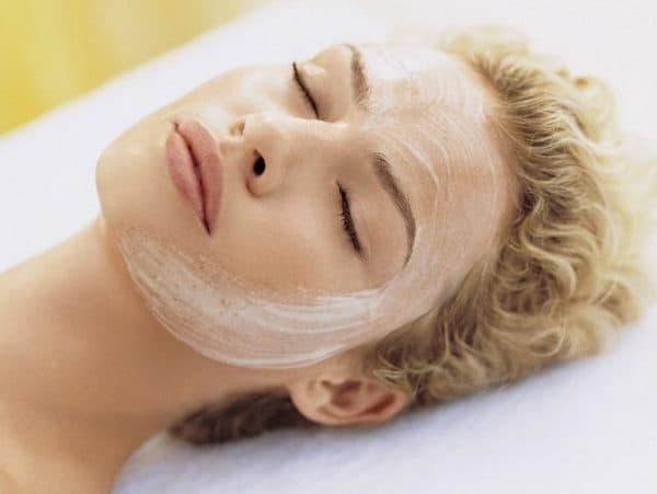 Обновляющая маска для лица с димексидом