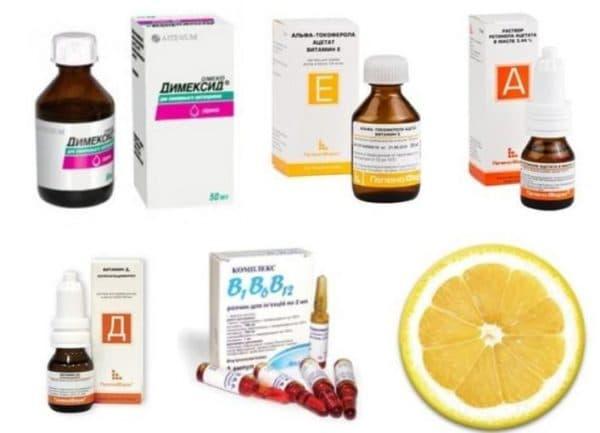 С какими витаминами сочетается Димексид в масках для волос