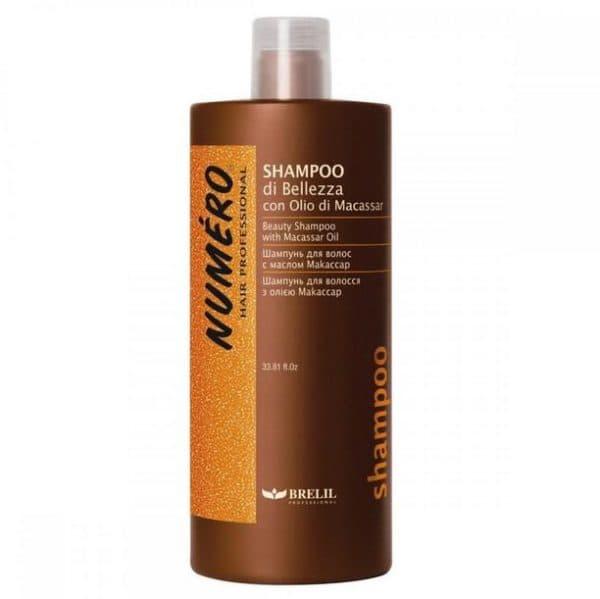 Шампунь для волос Нумеро с маслом Макассар