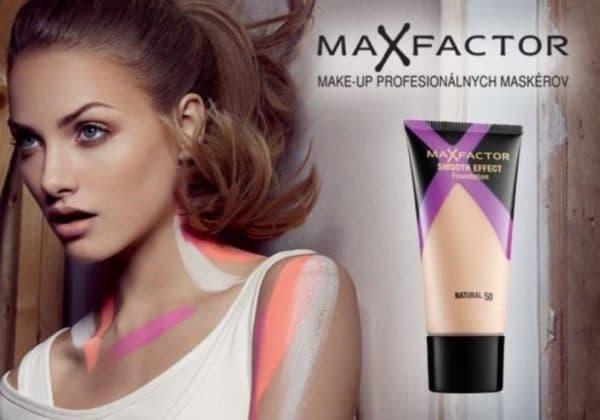 Тональный крем Max Factor Smooth effect