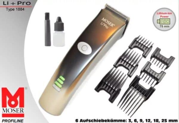 Надежная машинка для стрижки волос Moser 1884-0050 Li-pro