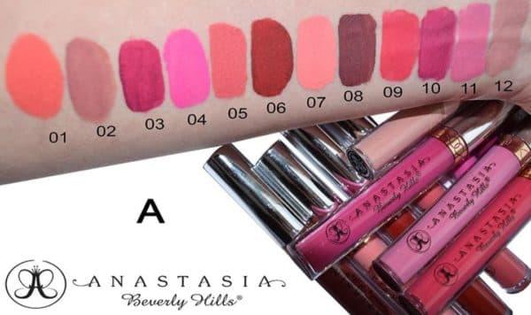 Матовый блеск для губ Anastasia