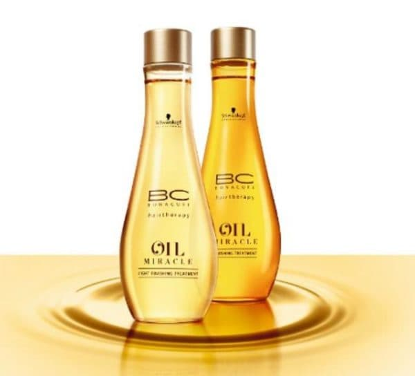 Масло для волос Шварцкопф BC oil miracle