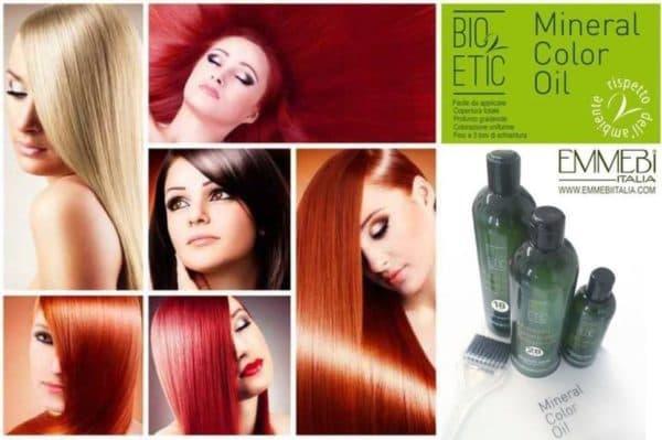 Масляная краска для волос BIO ETIC
