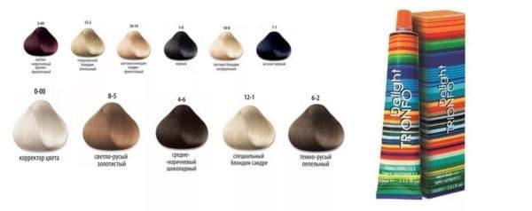 Краска для волос масляная Delight Trionfo