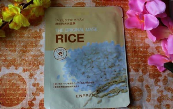 Маска из риса для лица Enprani