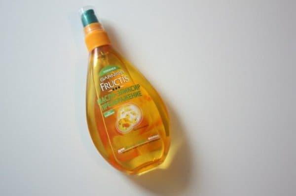 Масло для поврежденных кончиков волос Fructis от Garnier