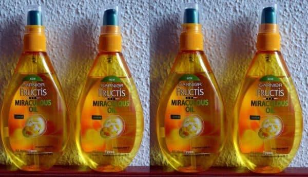 Несмываемое масло для волос Garnier Miraculous Oil