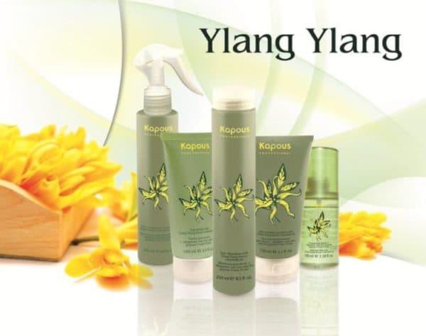 Маска для волос Kapous с эфирным маслом иланг-иланг