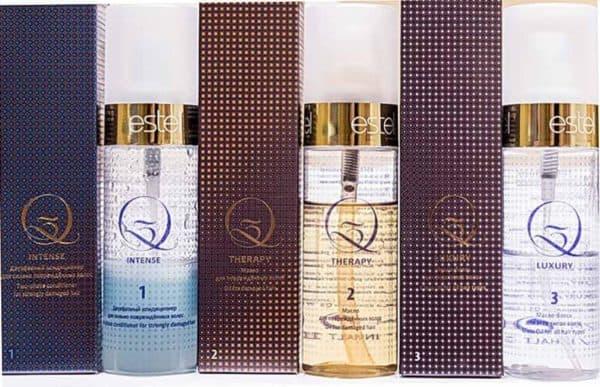 Набор Q3 Therapy Luxury для волос Эстель